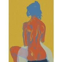 Geli Chavez Nude Figure with Blanket
