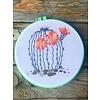 ICT Cross Stitch Round Cactus Embroidery