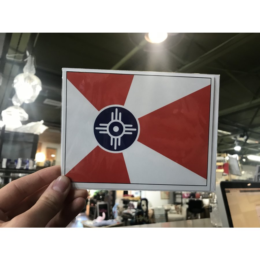 Individual ICT Flag Card with Envelope