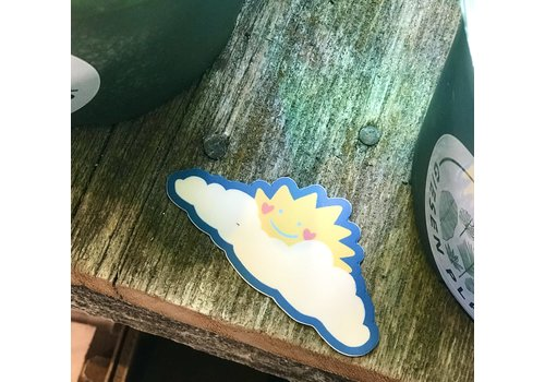 Delilah Reed Smilie Sun Decal