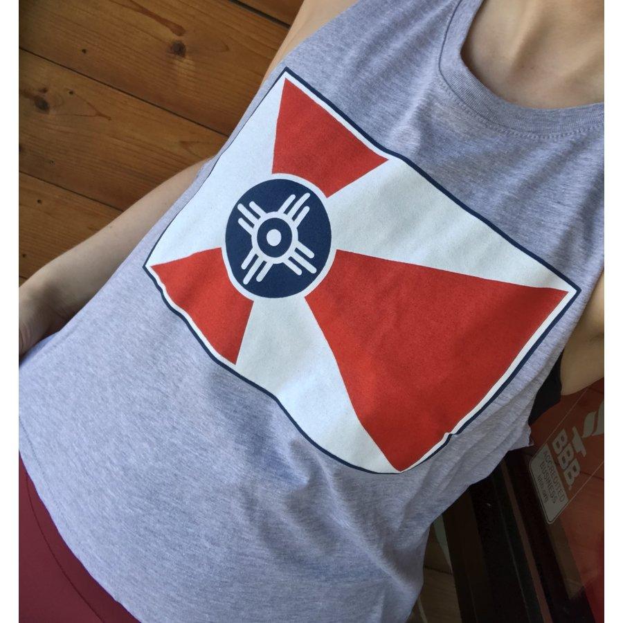 Wichita Flag Cropped Tank
