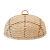 Creative Co-Op Hand-Woven Bamboo Food Cover w/ Handle