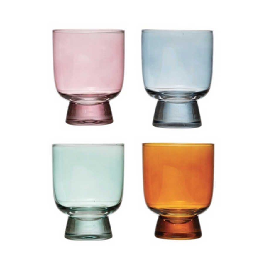 Colored Drinking Glass