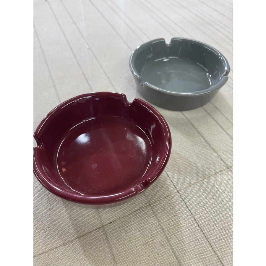 Vintage Grey Ceramic Ashtray