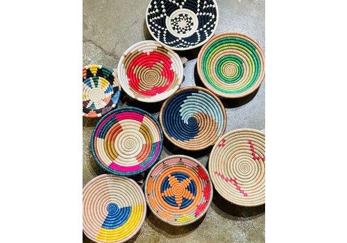 """Kabba Africa Art Handwoven Fiber 8"""" Bowl, Asstd."""