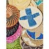 """Kabba Africa Art Handwoven Fiber 12"""" Charger, Asstd."""