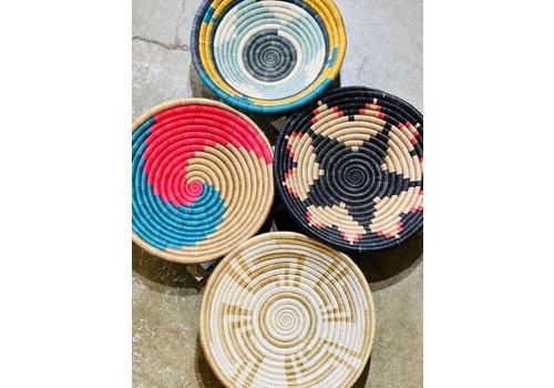 """Kabba Africa Art Handwoven Fiber 12"""" Bowl, Asstd."""