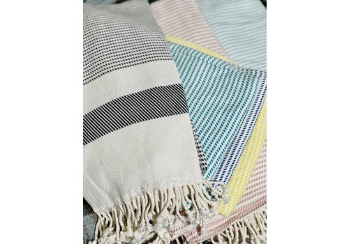 Dreamweaver Textiles Hand Loomed Turkish Towels Checkered