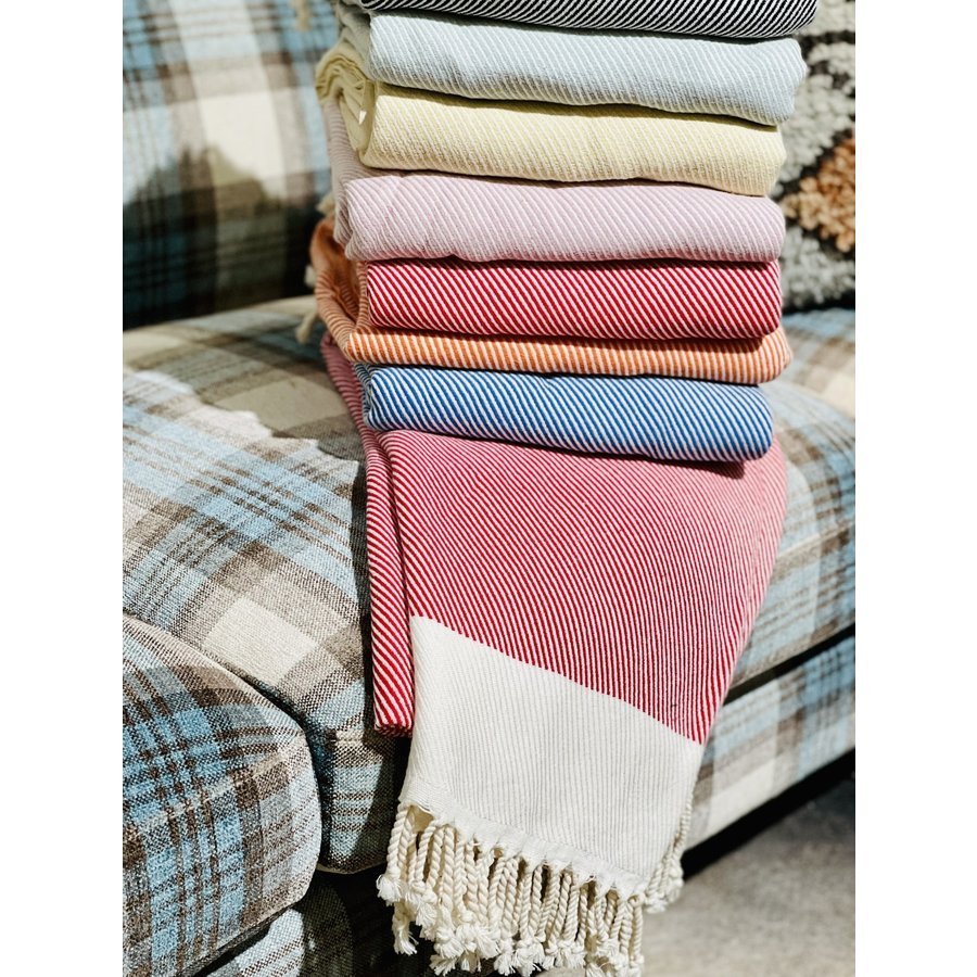 Hand Loomed Turkish Towels Striped