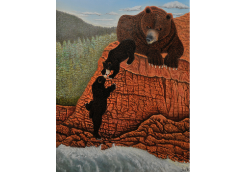 Nez Benson Two Little Bears