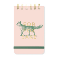 """Fox """"For Fox Sake"""" Wired Notepad"""