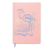 "Designworks INK Flamingo ""Winging It"" Hardcover Journal"