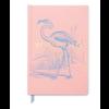 "Flamingo ""Winging It"" Hardcover Journal"