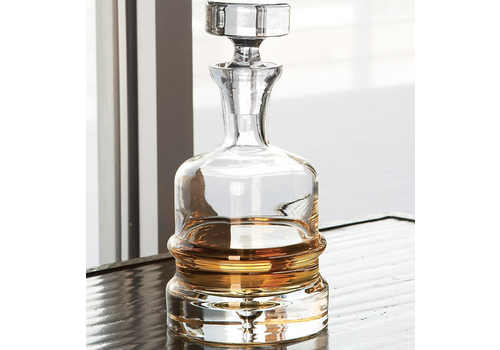 """Global Views Traditional Decanter- 10.5"""" h 5.5"""" d"""