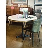 Blue Ocean Traders Avignon Round Table with Marble
