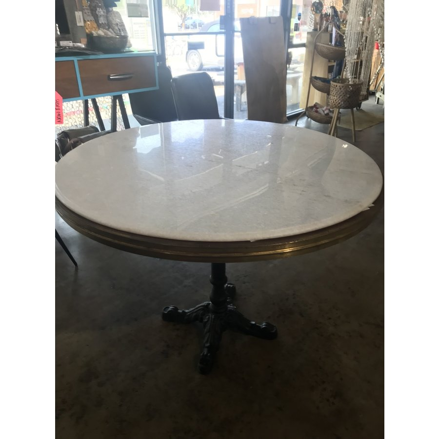 Avignon Round Table with Marble