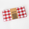 """One Hundred 80 Degrees Red Gingham Picnic Cloth 56""""x56"""""""