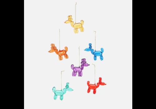 """One Hundred 80 Degrees Reindeer Balloon Ornament 3.5"""""""