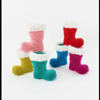 "Christmas Boot Decoration 10"""