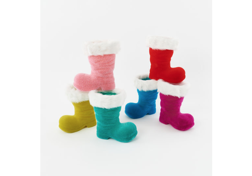 """One Hundred 80 Degrees Christmas Boot Decoration 10"""""""