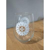 ICTMakers Wine Glass- Sunflower Hogan