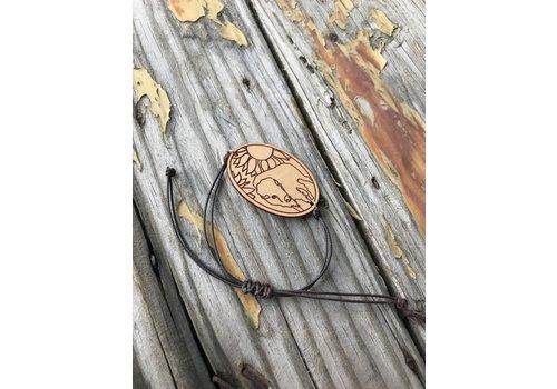 ICTMakers Bison Leather, String Bracelet