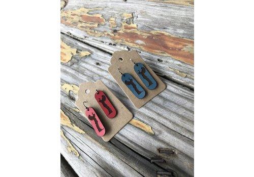 ICTMakers Leather Keeper Earrings
