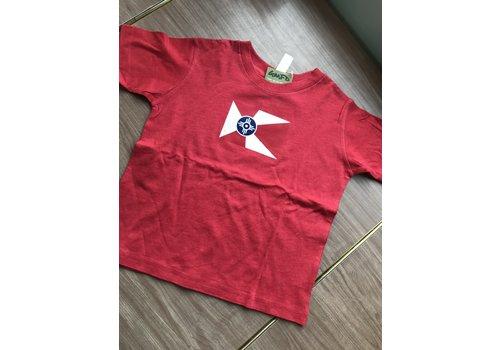 GMFD 50/50 Red Youth Short Sleeve Wichita Flag