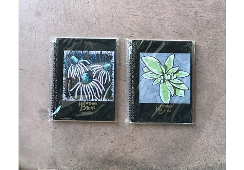 Feather B Heather Byers- Large Sketch Books