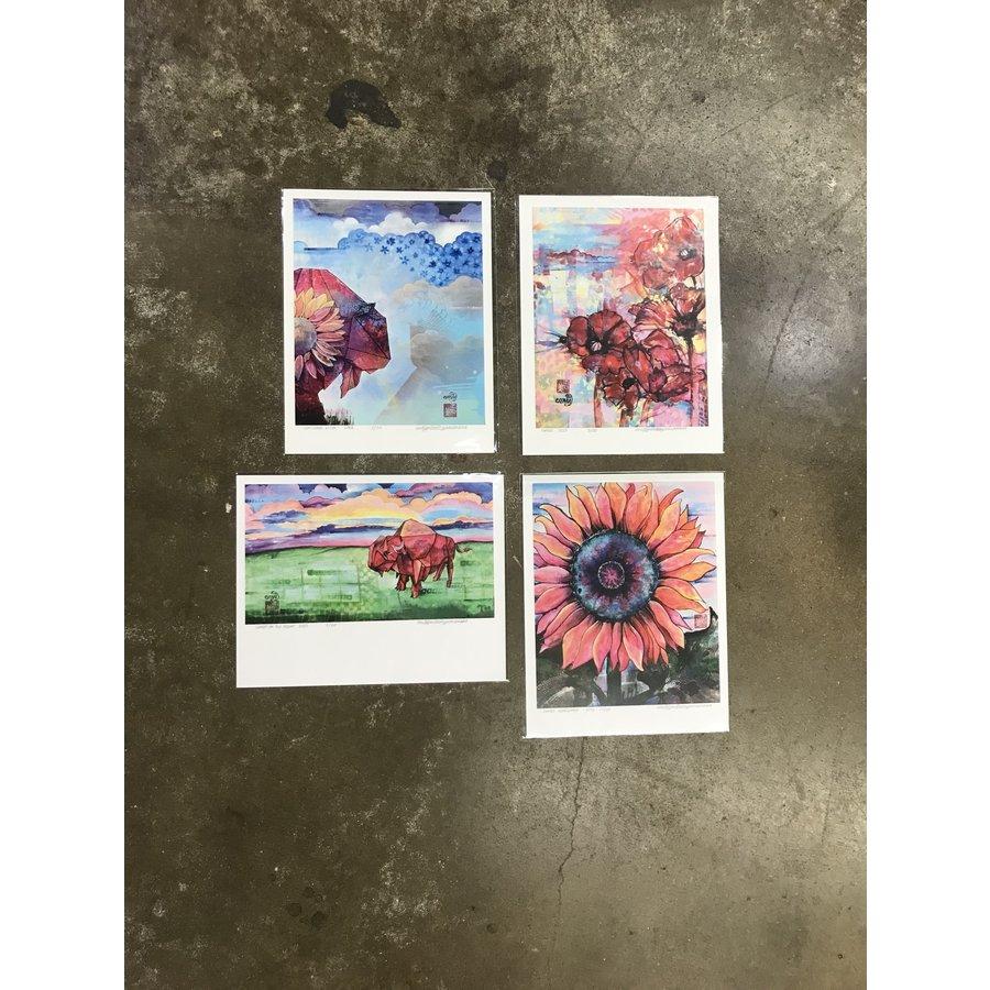 "Assorted Prints 11""x14"""