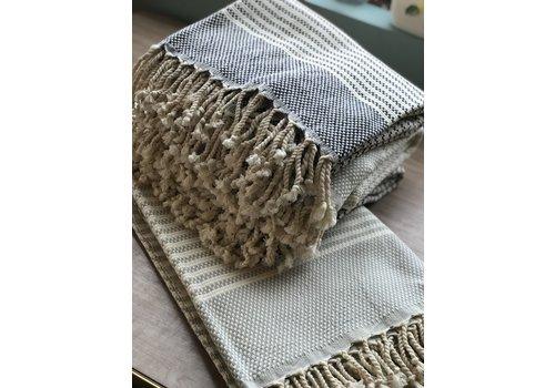 Dreamweaver Textiles Turkish Towels Checkered Stripes