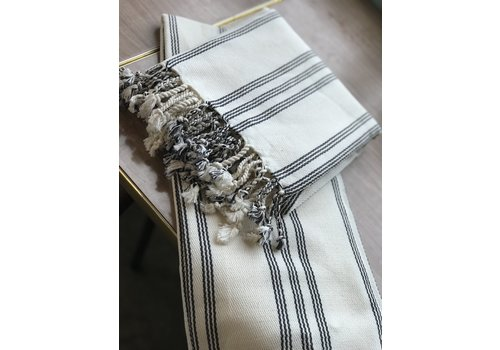 Dreamweaver Textiles Turkish Towel, Small Stripe