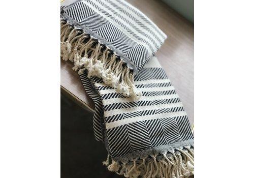 Dreamweaver Textiles Turkish Towel Zig Zag w/ Stripes