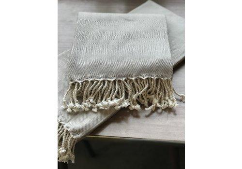 Dreamweaver Textiles Turkish Towel Patterned Diamonds