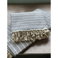"Turkish Towel Diagonal 1"" Stripes"