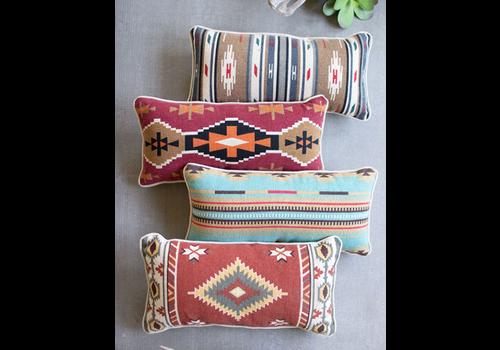 Kalalou Printed Lumbar Pillow