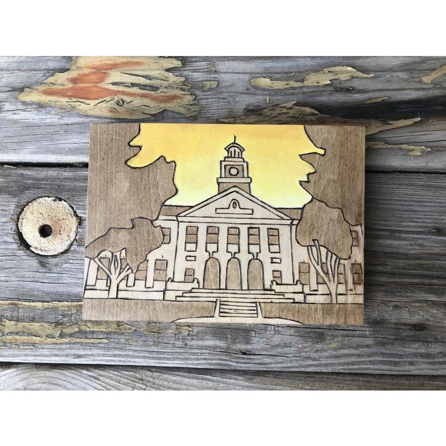 Mini University Woodburnings