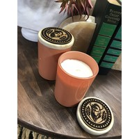 Peach Colored, Bison Candle