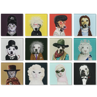 Animal Coasters Icons: Hollywood and More