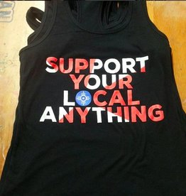 """Nathan Beste """"Support your local anything"""" Tank"""
