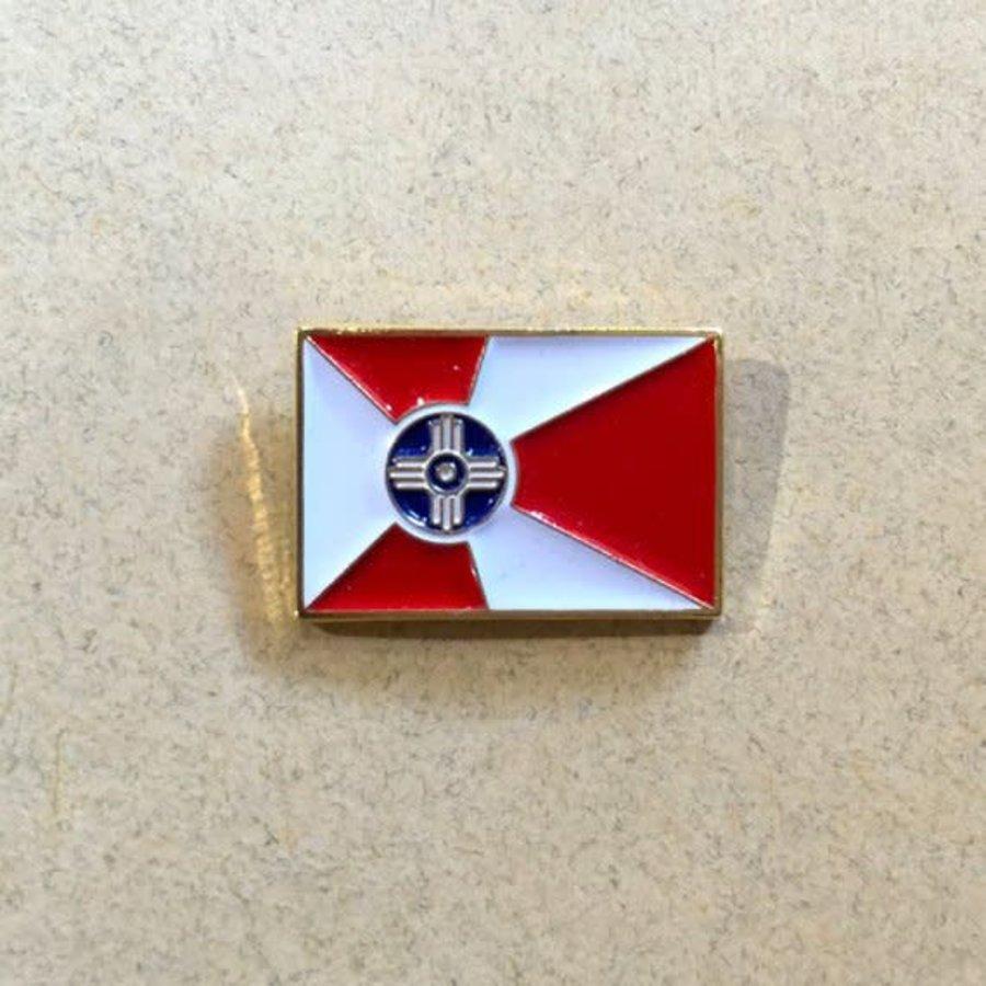 ICT Flag Lapel Pin: 3/4 in