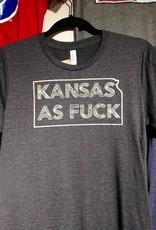 Heady Lights Kansas as F*ck Tee