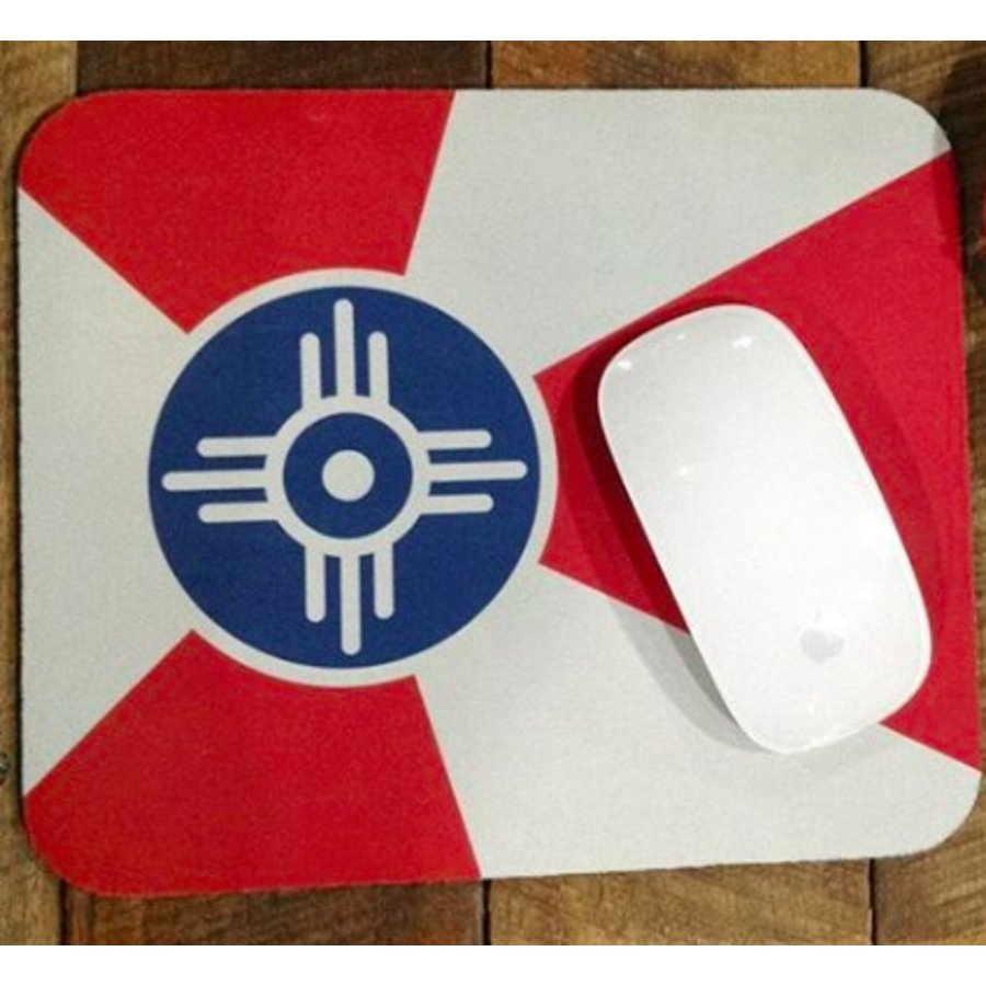 Flag Mouse Pad