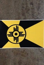 Luke Carter Wichita Shocker Flag Decal