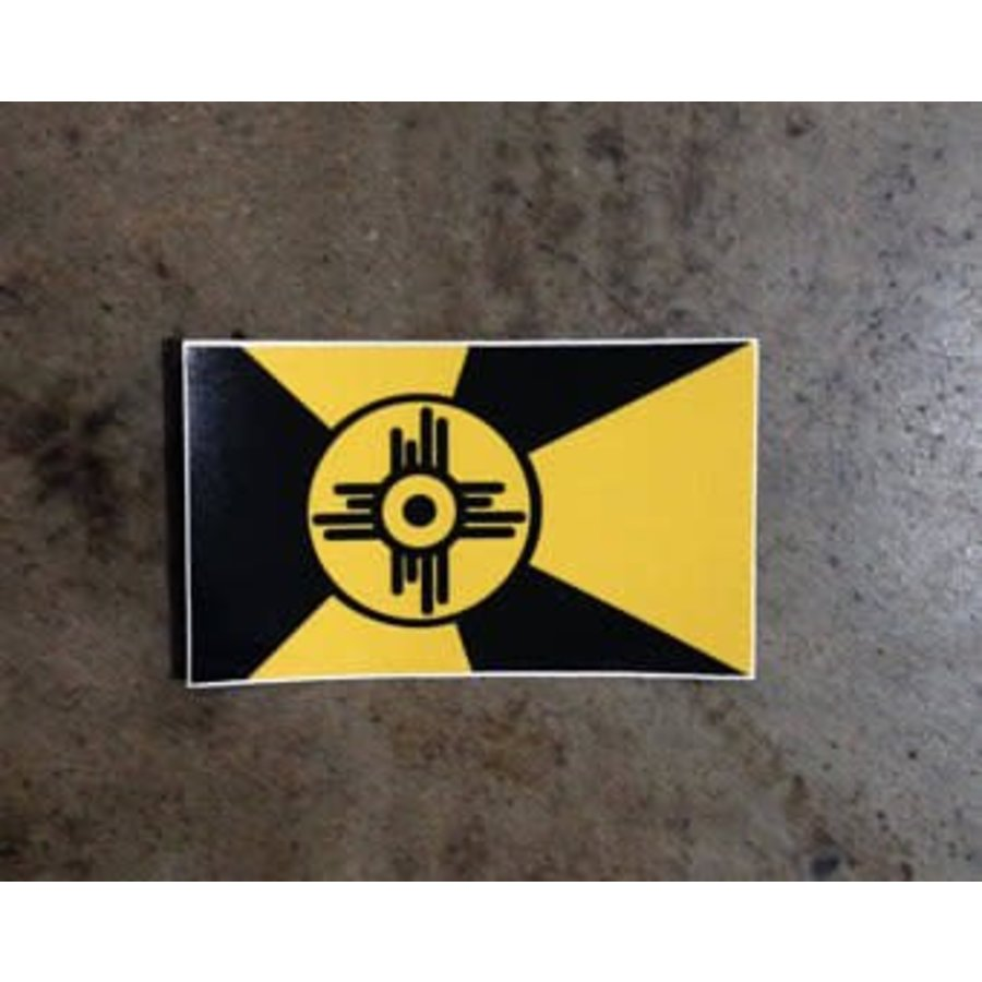 Wichita Shocker Flag Decal