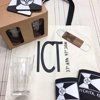 ICT Pint Glass