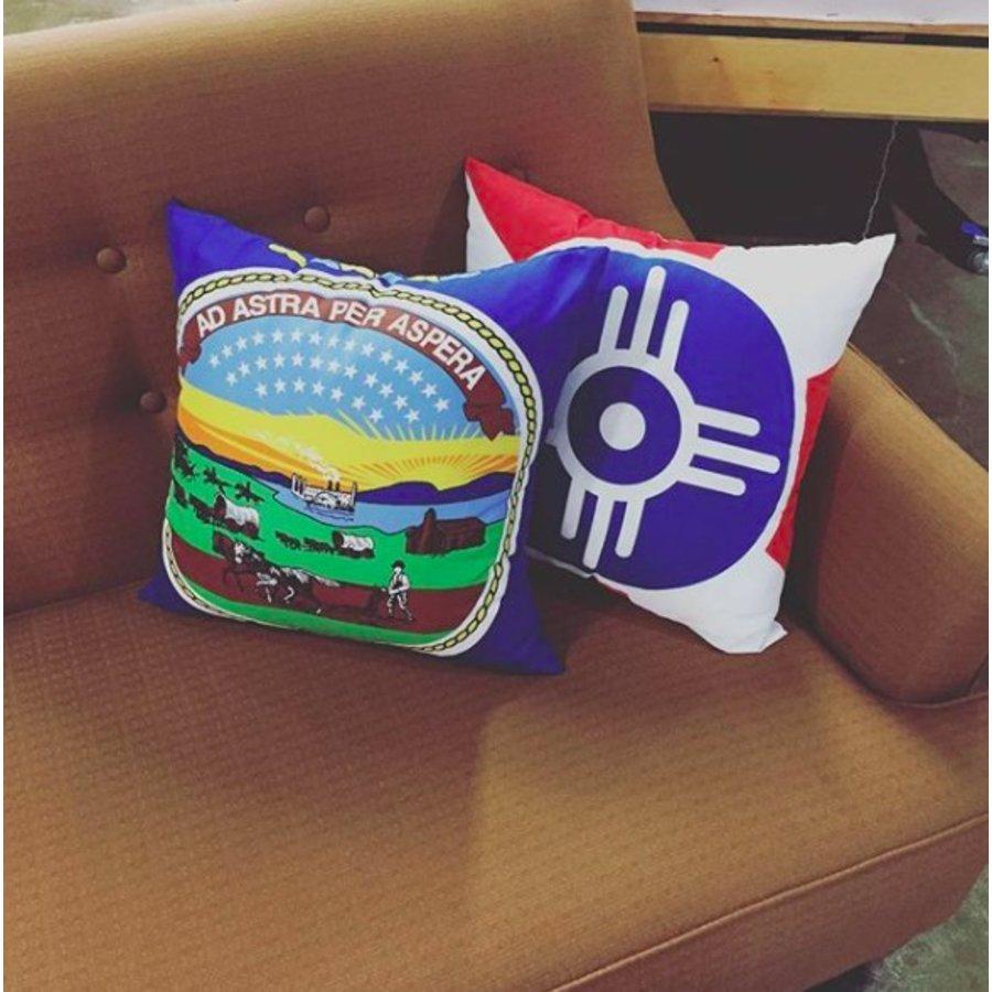 Wichita Flag Pillow