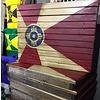 Wooden ICT Pallet Flag