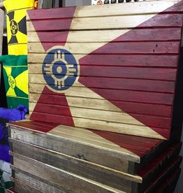 The Workroom Wooden ICT Pallet Flag
