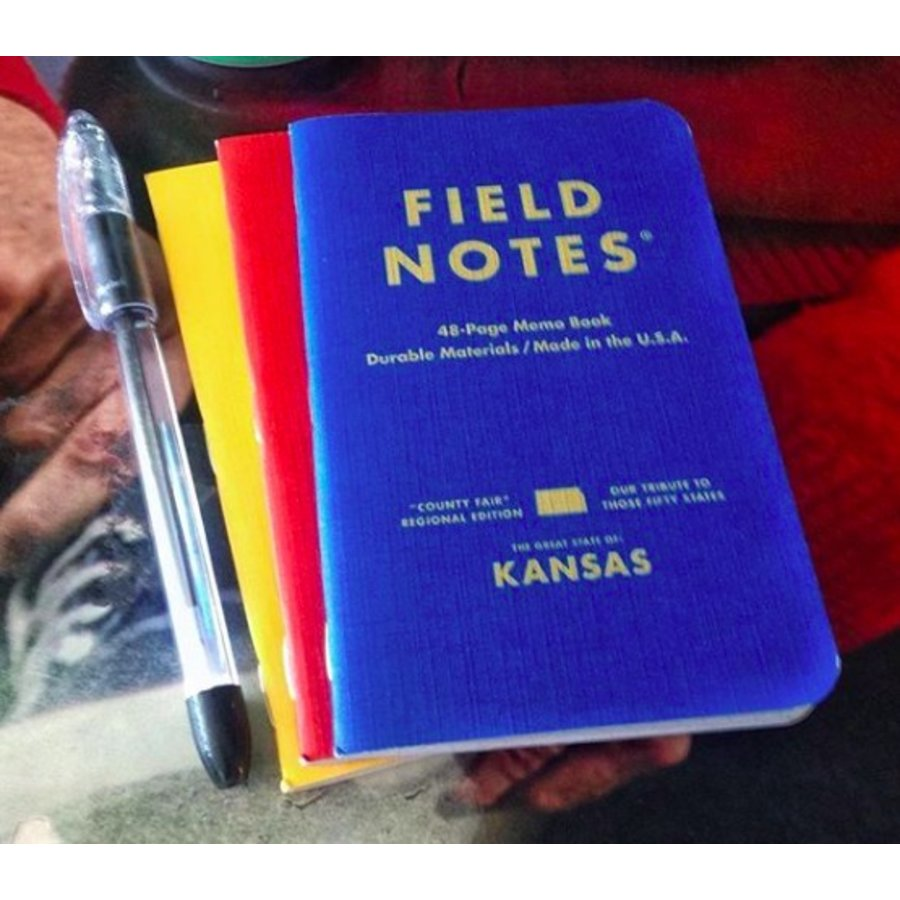 Field Notes: County Fair 3-Pack - KS